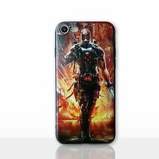 """3D Deadpool Case/Cover Apple iPhone 7 4.7"""" + Screen Protector / Silicone X-Force"""