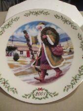 2001 Lenox International Victorian Santa Plate Collection Irish Santa #A3169