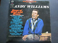 Andy Williams Days Of Wine And Roses Columbia CS 8815 lp vinyl record