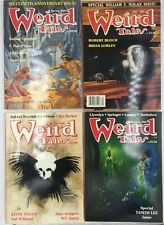 Weird Tales [Lot of 4 Magazines] Issues Numbers 290, 291, 292, 300 - VG+