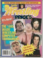 Inside Wrestling Magazine April 1995 Vader Jerry Lawler Hulk Hogan Bret Hart wwf
