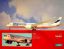 Herpa Wings 1:500 airbus a350-900 finnair Oh-LWB oneworld 530972 modellairport 500
