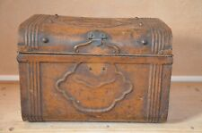 Vintage Period metal trunk