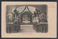 40572) Litho AK Gruss aus Vilseck Inneres der Bergkirche ca. 1900 Kr. Amberg