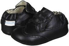 NIB ROBEEZ Mini Shoez Shoes Dress Man Black Wing Tip 3-6m 2