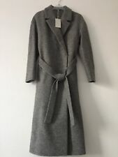 Cos -- Belted Grey Coat - Wool - New with tag - Size 8 - Ladies
