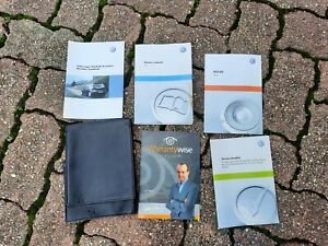 VW POLO 6R Manual Service Book RADIO book with wallet