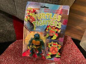 Teenage Mutant Ninja Turtles Bootleg Turtle Fighters Figure Blue Band new