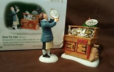 New ListingDept 56 New England Village 2001 Silver For Sale 2 Piece 56650 Retired 2002