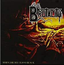 BRUTALITY - When The Sky Turns Black - CD - 166799