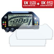 Yamaha MT10 / FZ10 Dashboard Screen Protector - 1 x Ultra-Clear & 1 x Anti-Glare