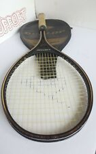 Dunlop John McEnroe Gold Mid Size Tennis Racket L4 w/ Case Nice Vintage