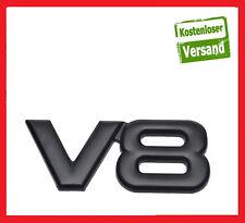 V8 Emblem Auto Aufkleber Logo 3D metall !!! v8 emblem schwarz