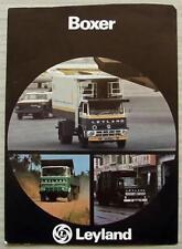 LEYLAND BOXER Commercial Vehicle Sales Specification Leaflet Feb 1979 ARABIC?