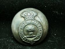 Mystery Marquess ~ Garb (Sheaf of Wheat) 27mm S/P Livery Button Firmin 20th