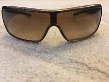 Vintage Prada SPR 03H Sunglasses Shades Brown Shield Unisex 2AU-6S1 SPR03H mens