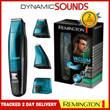 Remington MB6550 Vacuum Beard and Grooming Kit Foil Shaver Detail Trimmer Timer