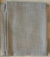"""28"""" x 23 1/2"""" Piece 10 Ct. Pewter Tula Fabric/Counted Cross Stitch"""