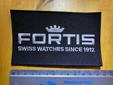 Fortis Watches promotional embroidered patch - unused