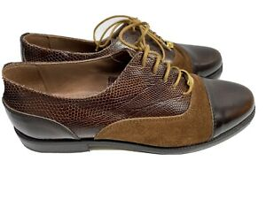 russell bromley Ladies Brown Leather Shoes. Size 6 Eur 39
