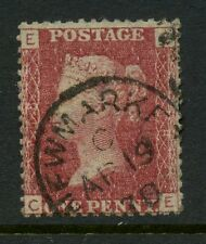 PENNY RED Plate 168 CE...NEWMARKET CDS POSTMARK