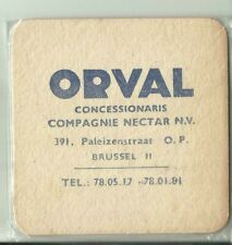 S-B ORVAL R-V NL COMPAGNIE NECTAR N.V. BRUSSEL