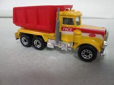 Matchbox Peterbilt Quarry Truck Yellow MB30 with box