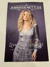"""Jennifer Nettles (Band Sugarland) Vip """"Live In Concert� Signed Concert Poster"""