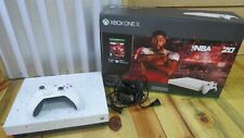 Microsoft Xbox One X 1 TB NBA 2K20 Special Edition Paint (Game Not Included)