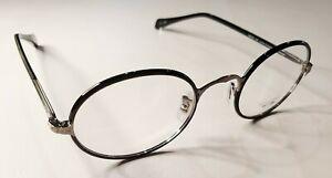 Oliver Peoples Linus RX Eyeglasses Polished Black 46-22-143 Made in Japan