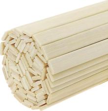 50/100 PCS Wood Craft Natural Bamboo Sticks Strips Strong Natural Craft projects