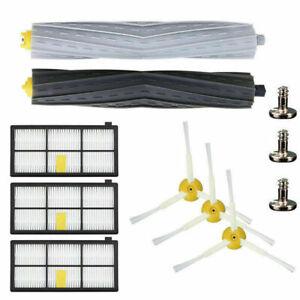 For iRobot Roomba Filters 800 870 & Series Part Kit 880 890 980 Vacuum Brush