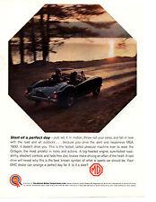 1961 MG MGA 1600  ~  NICE ORIGINAL PRINT AD