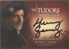 "The Tudors Series 1,2,3 - TA-HC Henry Czerny ""Norfolk"" Auto/Autograph"