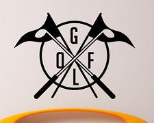 Golf Wall Decal Vinyl Sticker Sport Ball Interior Housewares Home Decor (4gob2)
