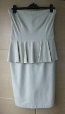 BNWT, SMART CREAM, STRAPLESS DRESS BY STELLA McCARTNEY - 44 (ABOUT UK 12)