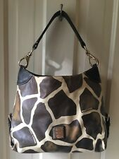 Dooney & Bourke Leather Giraffe Print Bag