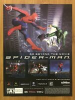 Spider-Man PS2 Playstation 2 2002 Vintage Print Ad/Poster Official Promo Art