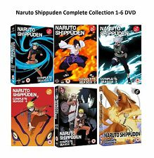Naruto Shippuden Complete Collection 1-6 DVD Boxset All Seasons UK Release New