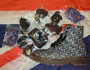 Original Black Dr Doc Martens Strong Replacement Laces*Official Shoes Boots