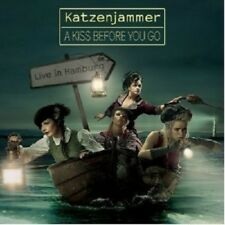 KATZENJAMMER - A KISS BEFORE YOU GO-LIVE IN HAMBURG  CD + DVD NEUF+++++++++++++