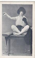 "TAILOR ""working girl series "" -1920s PIN-UP/CHEESECAKE arcade/exhibIit card/RARE"