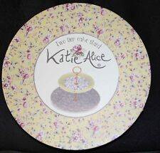 Katie Alice 'Ditsy Floral' Shabby Chic Fine Bone China Cake Stand. Creative Tops