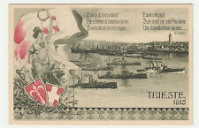 CARTOLINA 1915 TRIESTE RIF. 14132