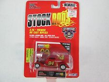 Racing Champions Stock Rods McDonalds Bill Elliott #94 34 Ford Coupe