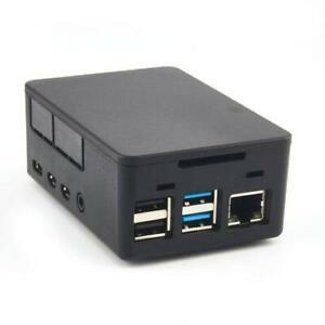 HighPi Universal Case Gehäuse für Raspberry Pi 4 & HATs schwarz Poe HifiBerry
