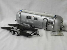 FRANKLIN MINT DIECAST AIRSTREAM TRAILER AND CAR TRAILER PRECISION MODEL Lot 219