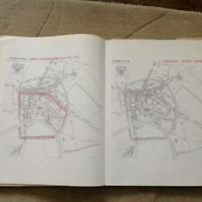 HEREFORD  Large Maps, Plans And Narrative 1800 And Before