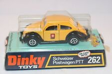 Dinky Toys 262 Schweizer Postwagen PTT MIB and mint box all original condition