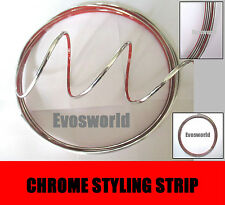 CHROME STYLING MOULDING TRIM STRIP 3.5MM VW VOLKSWAGEN BORA JETTA TOURAN SHARAN